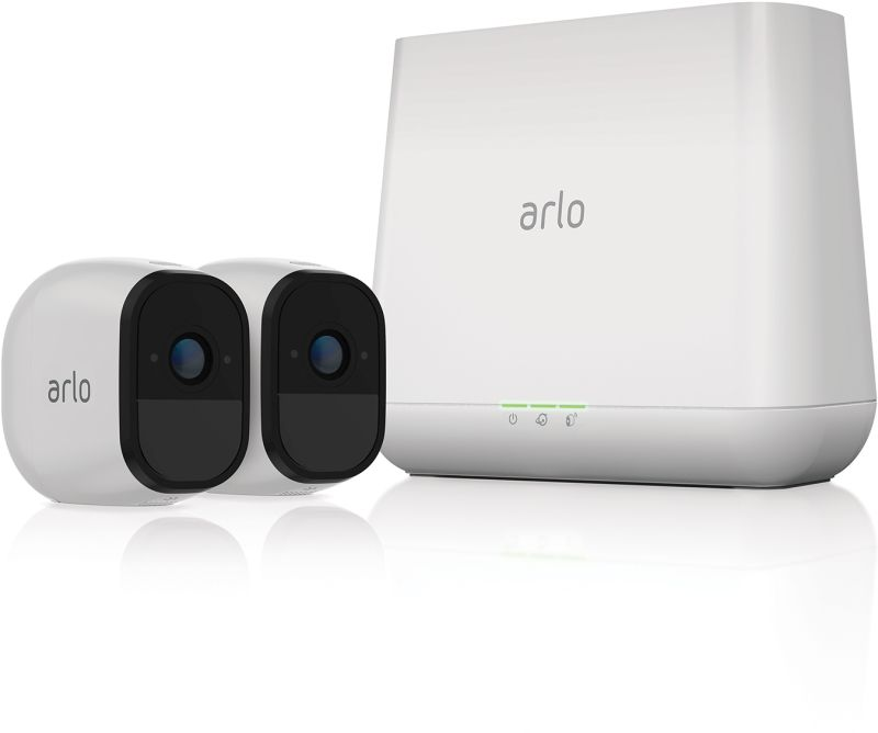 ARLO PRO 2 x HD Camera Smart Security System Wire Free (VMS4230)