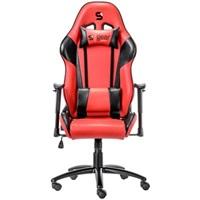 SPC Gear SR300 RD herní židle červená - kožená