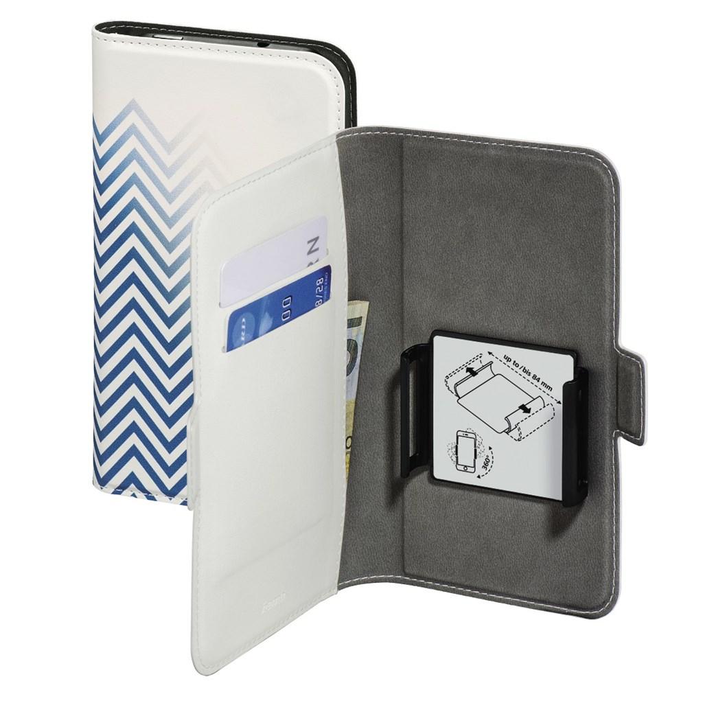 "Hama Smart Move-Blurred Lines, pouzdro na mobil, XXL (5,2""-5,8""), modré"