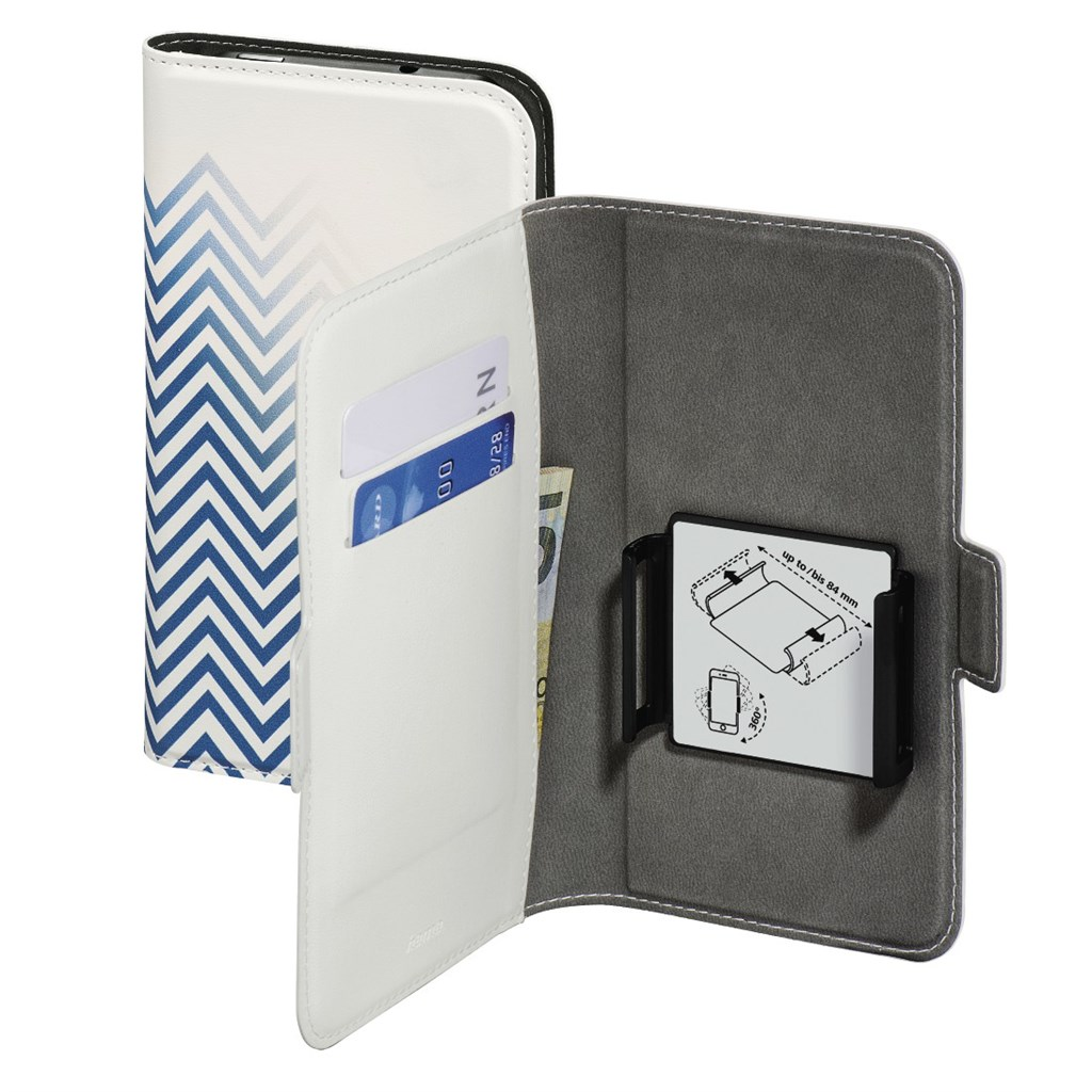 "Hama Smart Move-Blurred Lines, pouzdro na mobil, XL (4,7""-5,1""), modré"