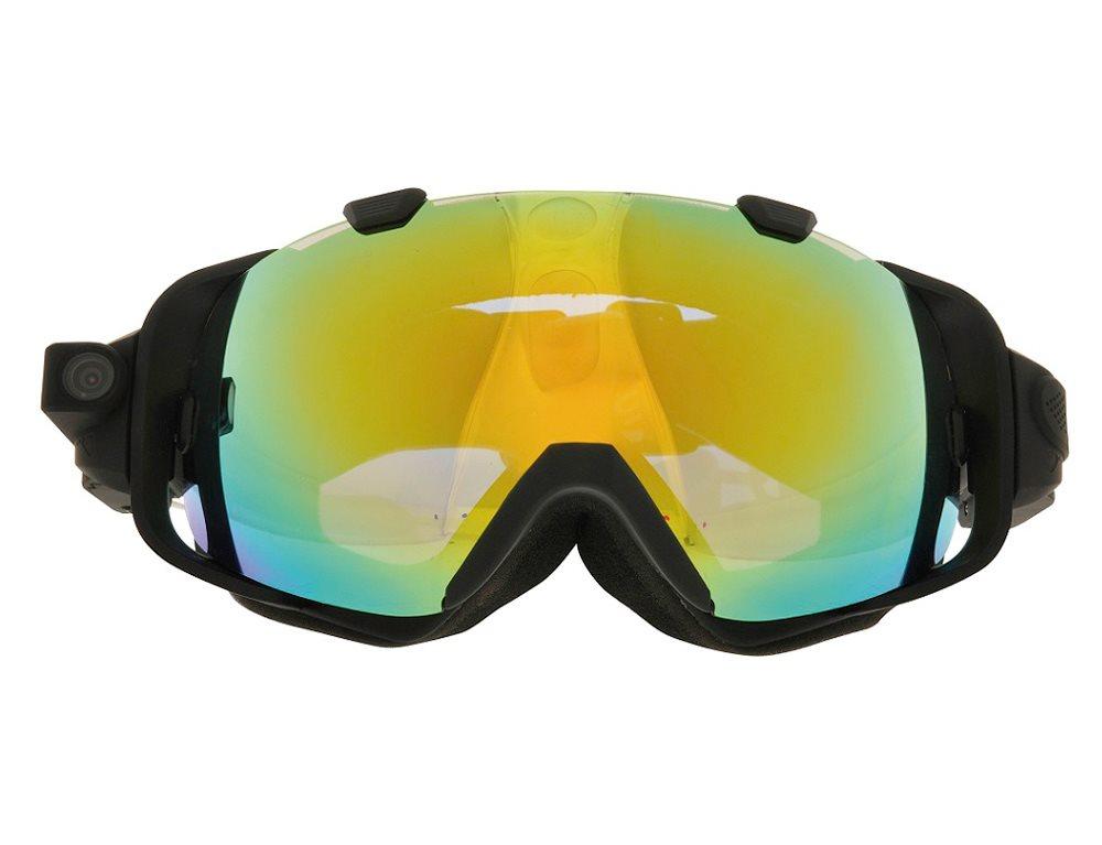 Rollei Outdoor kamera/ Lyžařské brýle/ Ski Goggles/ FULL HD 135°/ 5 MPix/ Černé