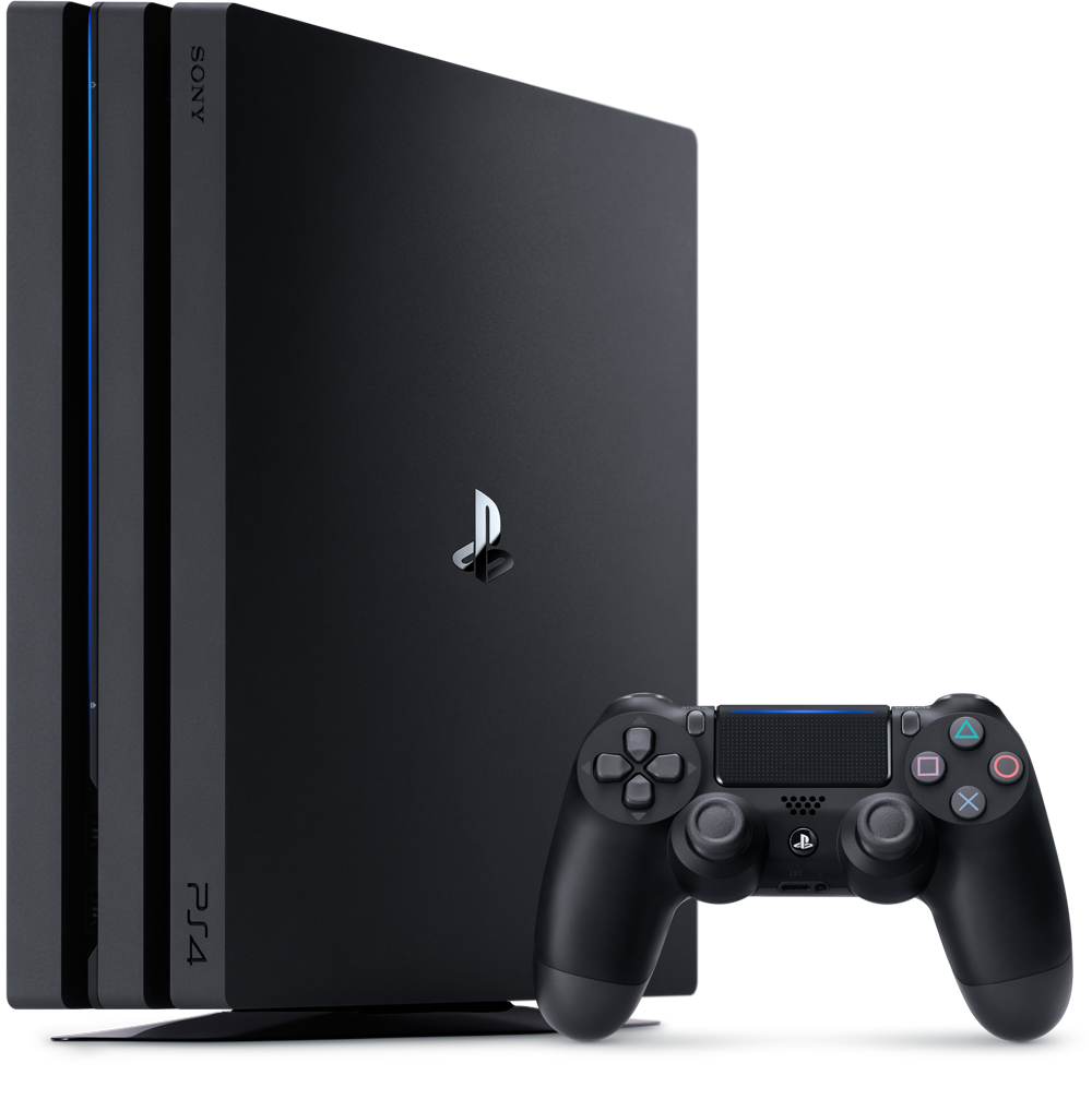 PS4 Pro 1TB A Chassis Black/EAS