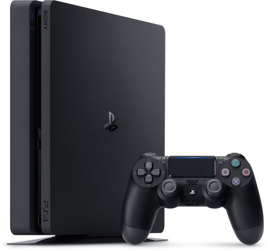 PS4 500GB D Chassis Black/EAS SLIM