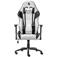 SPC Gear SR300 WH herní židle bílá - kožená