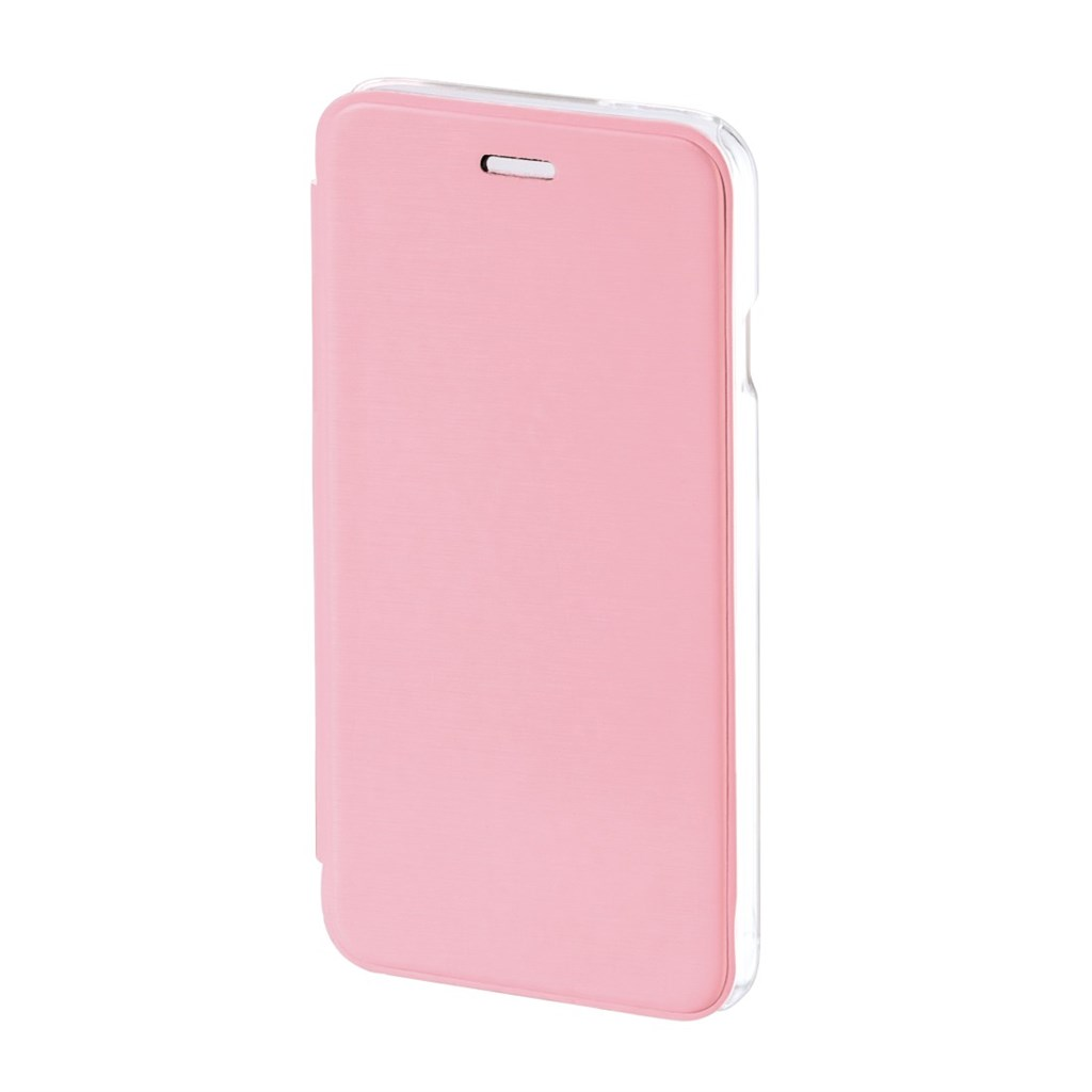 Hama Clear Booklet Case for Apple iPhone 6, rose