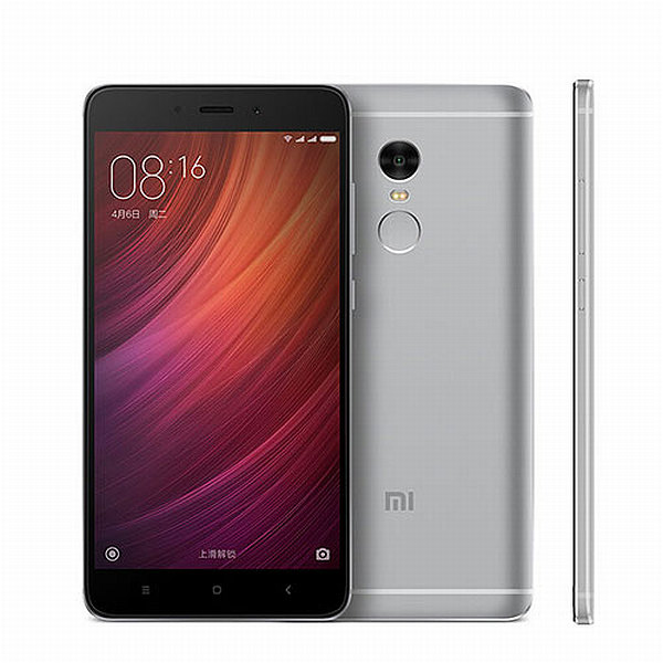 Xiaomi Redmi Note 4 Grey/ 5,5´´ 1920x1080/2,1GHz DeC/2GB/16GB/2xSIM/FP/13MPx/4100mAh