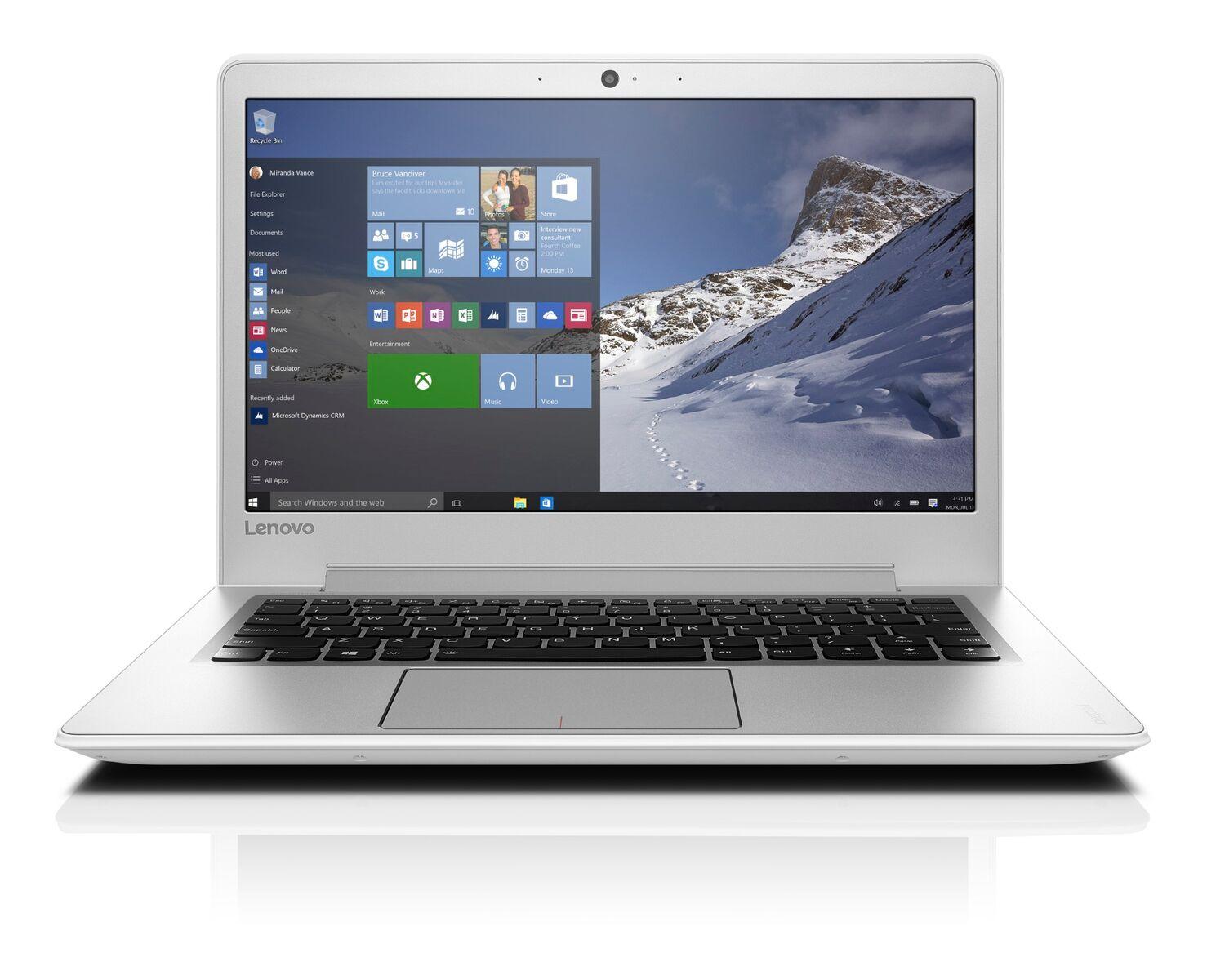 "Lenovo IdeaPad 510S-13IKB i5-7200U 3,10GHz/4GB/SSD 256GB/13,3"" FHD/IPS/AG/WIN10 bílá 80V0001ACK"