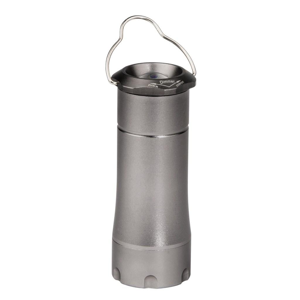 Hama LED kempingová lampa 2v1, šedá