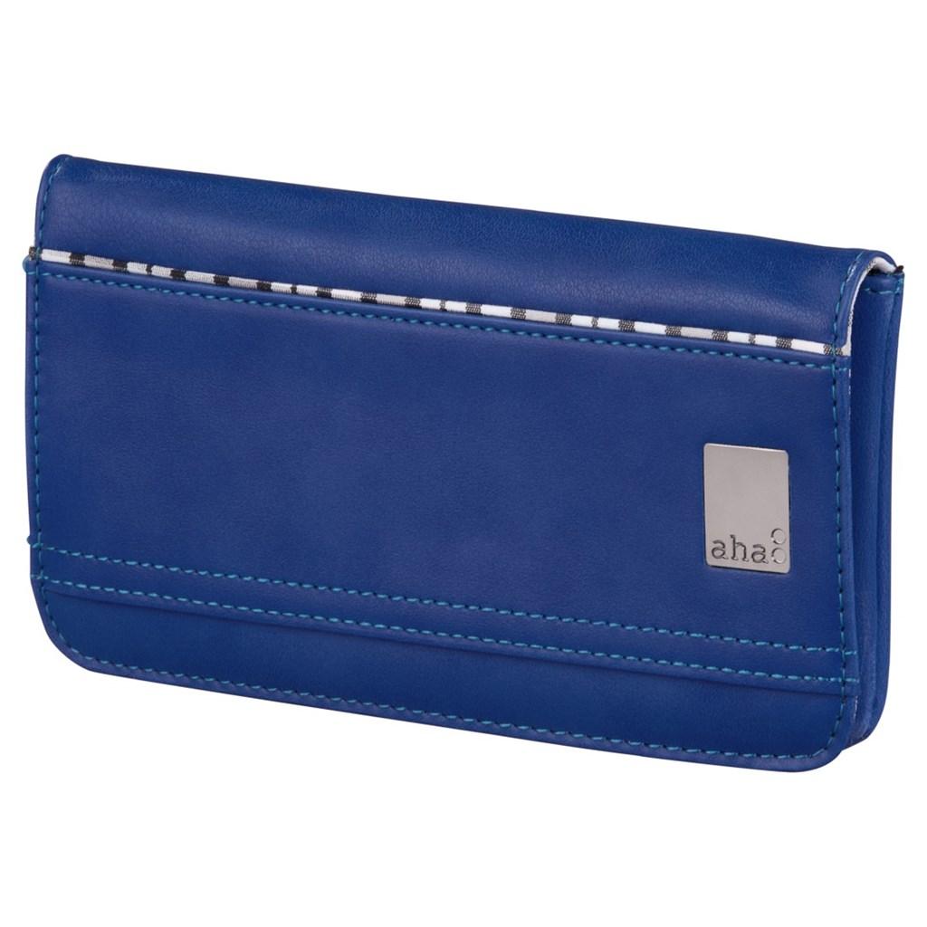 aha: pouzdro-peněženka na mobil, velikost XL, tmavě modré