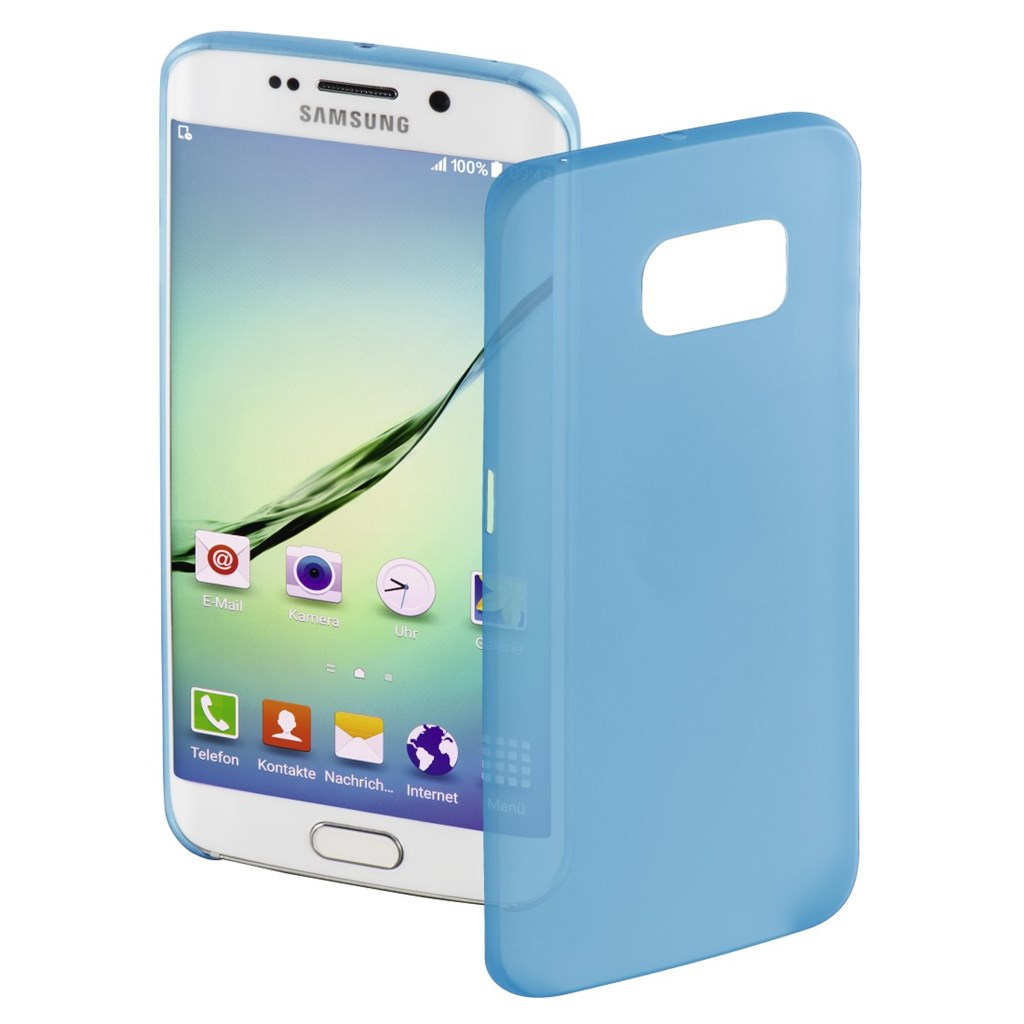 Hama Ultra Slim Cover for Samsung Galaxy S6 Edge, blue