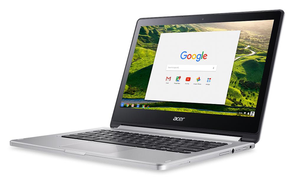 Acer Chromebook 13/MT8173/4G/64GB/Chrome stříbrný