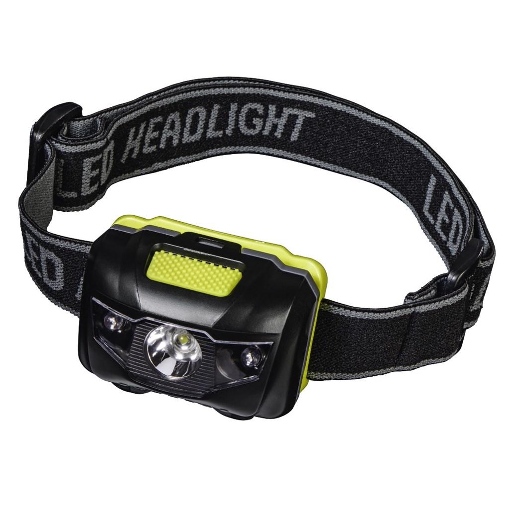 Hama Active LED čelovka, černá/žlutá
