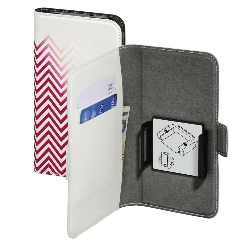 "Hama Smart Move-Blurred Lines, pouzdro na mobil, XL (4,7""-5,1""), červené"