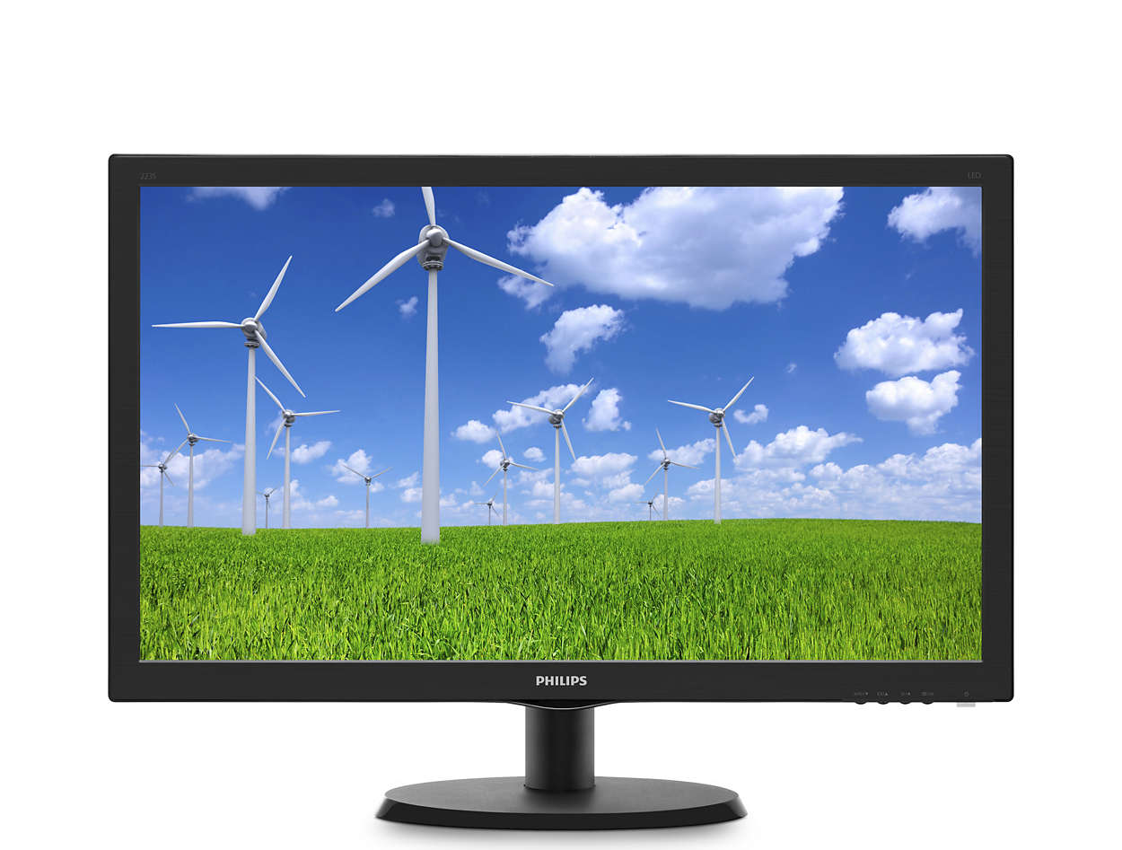 "22"" LED Philips 223S5LSB - FHD,DVI"