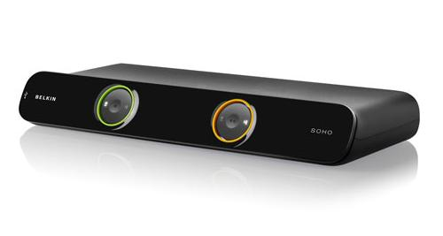 Belkin 2- portový OmniView SOHO KVM Switch, DVI & USB, vč.kabelů