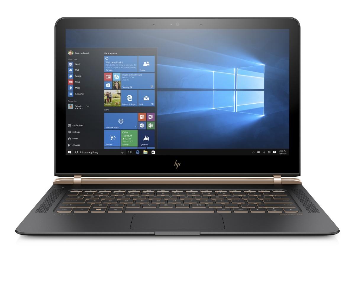 HP Spectre Pro 13 G1 i5-6200U / 8GB / 256GB SSD PCIe / 13,3'' FHD / Intel HD / Win 10 Pro
