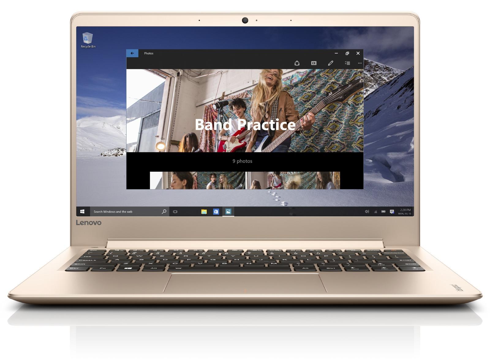 Lenovo IdeaPad 710S 13.3 FHD IPS AG/I7-7500U/256G SSD/8G/INT/W10 zlatý