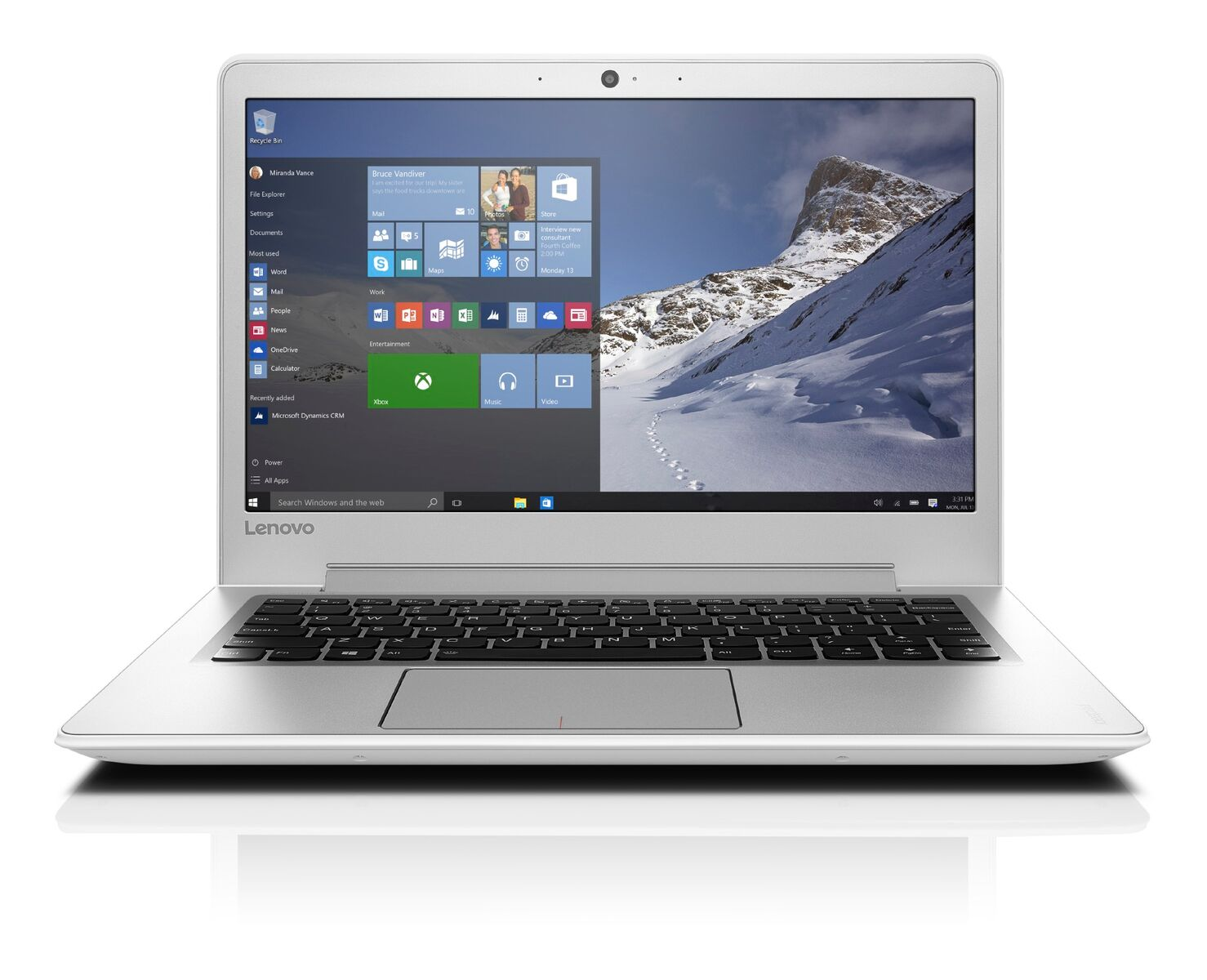"Lenovo IdeaPad 510S-13IKB i5-7200U 3,10GHz/8GB/SSD 256GB/13,3"" FHD/IPS/AG/WIN10 bílá 80V0000WCK"