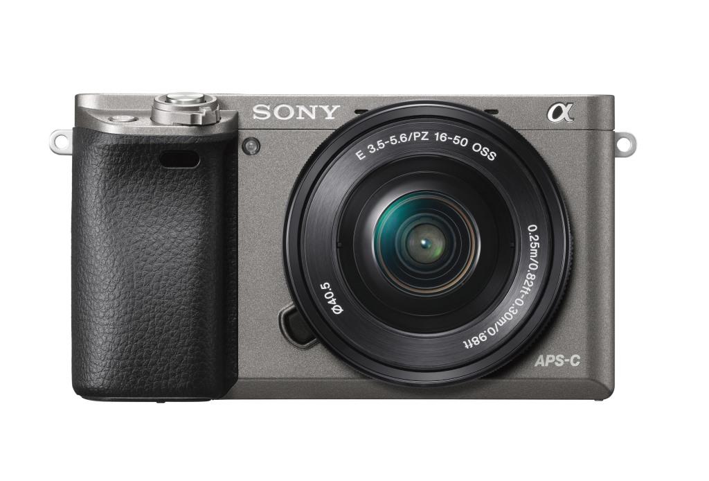 SONY ILCE-6000 Fotoaparát Alfa 6000 s bajonetem E + 16-50mm objektiv - Grafit