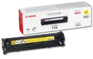 Toner Canon CRG716Y 1500str. (CRG-716Y) pro LBP-5050