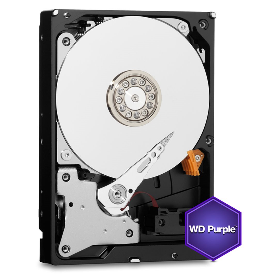 WD Purple WD80PUZX 3.5'' HDD 8TB, SATA/600, 128MB cache, pro video surveillance