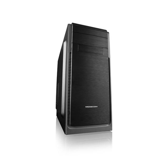 Modecom PC skříň HARRY 3 MIDI, 1x USB 3.0, 2x USB 2.0 + audio HD, černá, bez zdroje