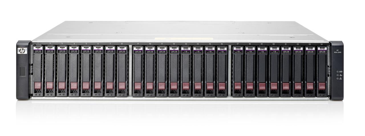HP MSA 2040 Energy Star SAN Dual Controller SFF Storage