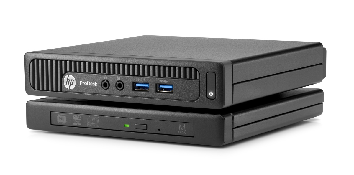 HP ProDesk 400G2 DM/i3-6100T/4GB/500GB/Intel HD/DVD-RW/Win 10 Pro