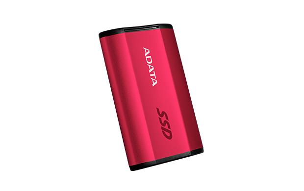 ADATA externí SSD SE730 250GB (500/500MB/s) USB 3.1, červený