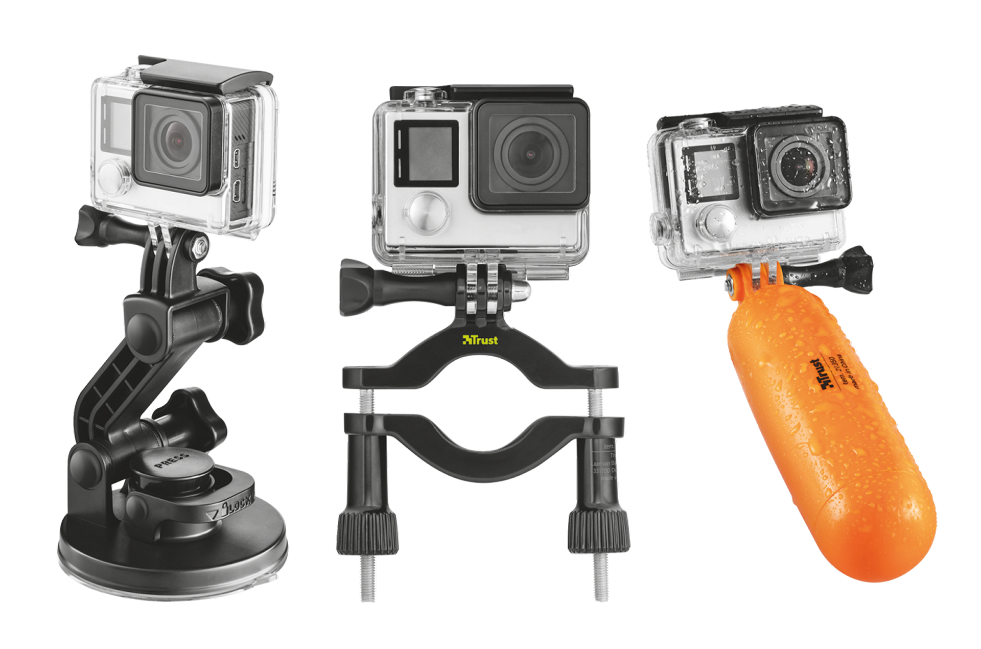 TRUST Action Cam Multipack
