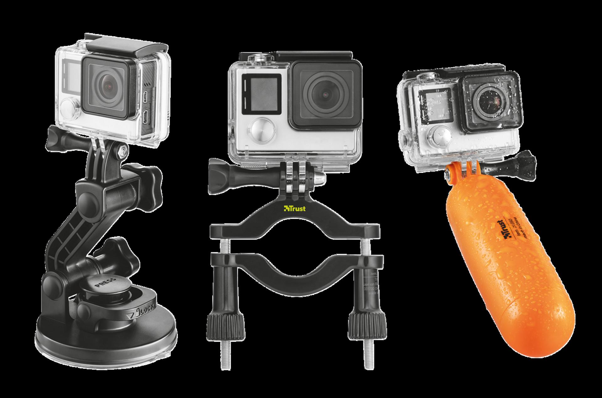 Trust akční kamera multipack