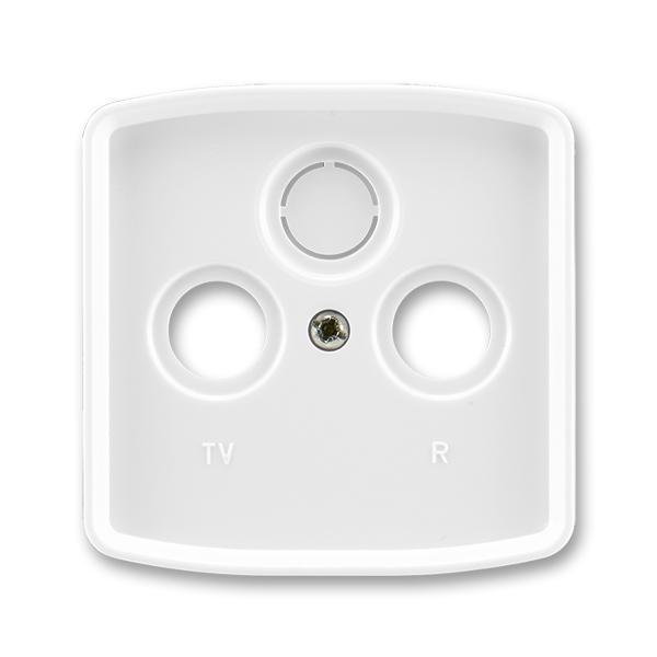 Tango kryt zásuvky TV+R(+SAT) bílá