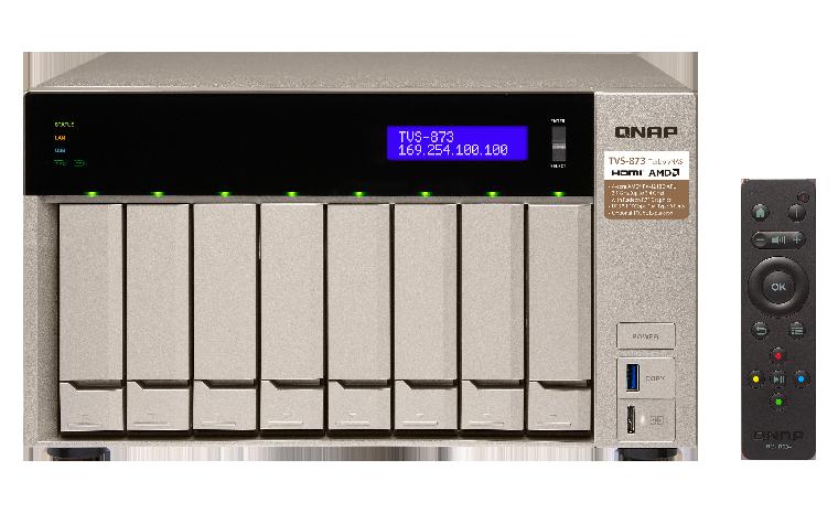 QNAP TVS-873-64G (2,1G/64GB RAM/8xSATA)