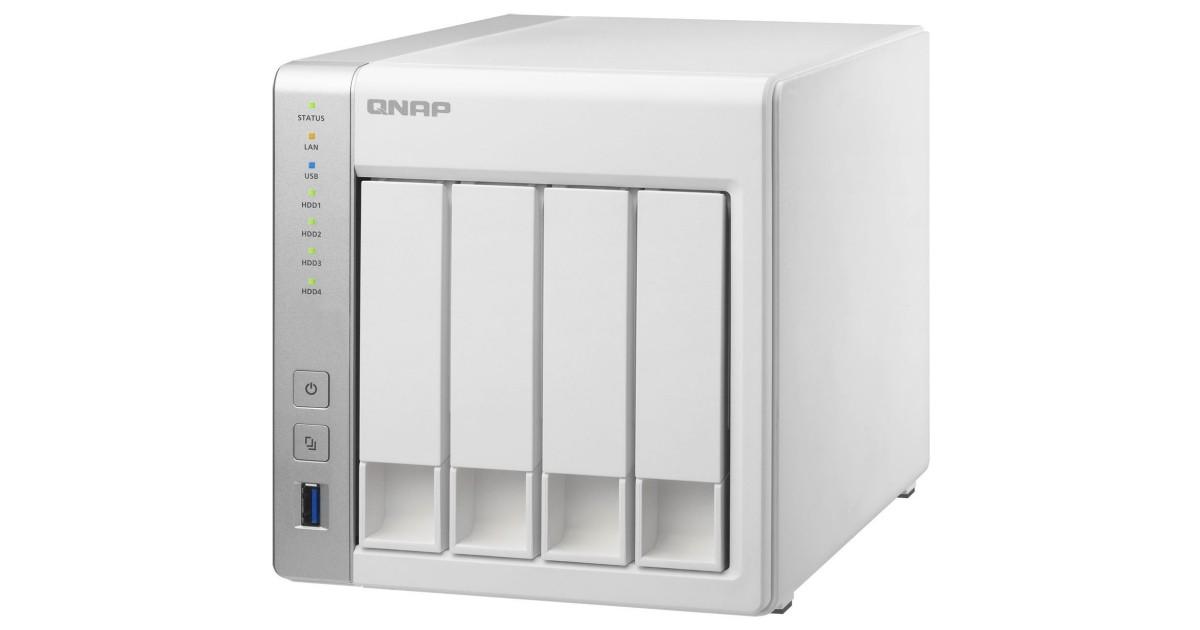 QNAP TS-431P (1,7GHz/1GB RAM/4xSATA)