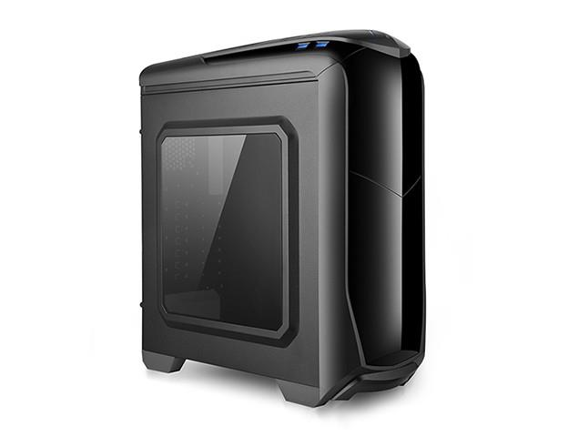X2 PC case ATX - ISOLATIC - black