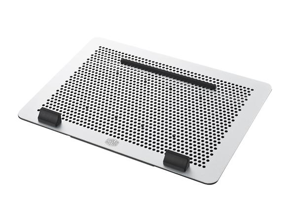 """Cooler Master chladicí ALU podstavec MasterNotePal Maker pro NTB 12-17"""", 2x8cm fan, USB 3.0, výš. stavitelný"""