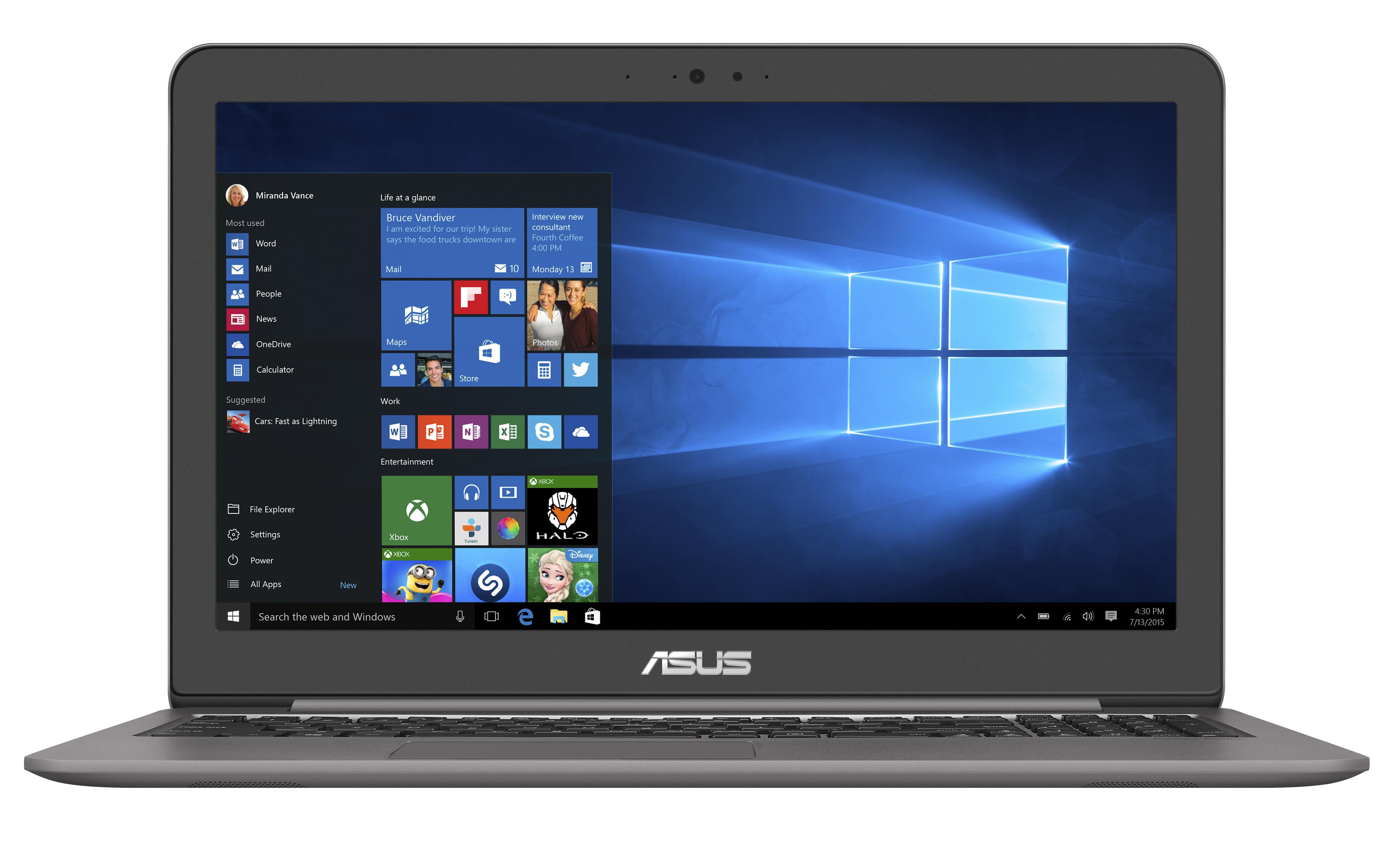 ASUS UX510UW 15.6/i7-7500U/1TB+256SSD/8G/NV/W10