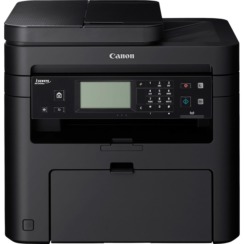 Canon i-SENSYS MF249dw - PCSF/SEND/LAN/WiFi/WiFi Direct/Duplex/DADF/PCL/27ppm/USB