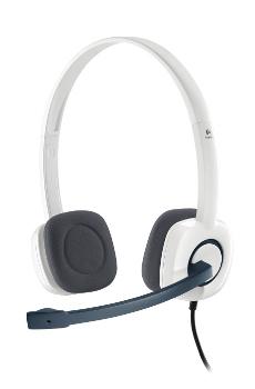 Náhl. sada Logitech Stereo Headset H150, Coconut