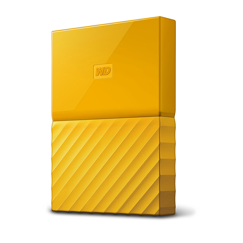 WD My Passport 2.5'' externí HDD 3TB, USB 3.0, žlutý