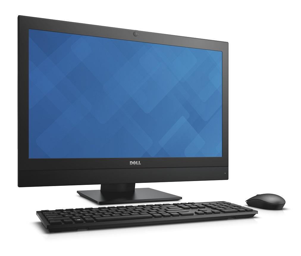 """Dell Optiplex 7440 Touch AIO 23"""" FHD i5-6500/8G/128G-SSD/HDMI/DP/DVD-RW/W7P+W10P/3RNBD/Černý"""