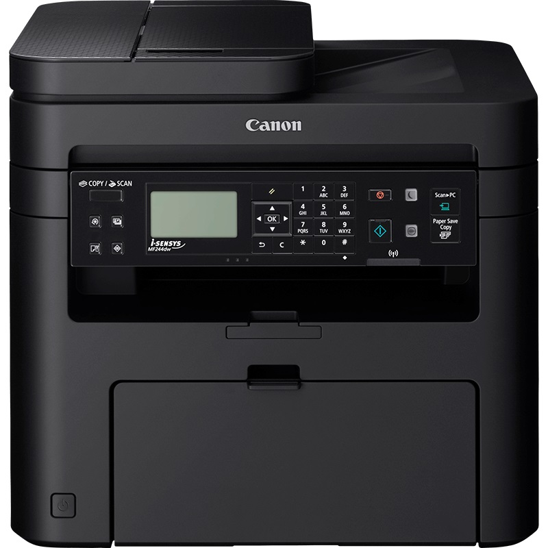 Canon i-SENSYS MF244dw - PCS/LAN/WiFi/WiFi Direct/Duplex/ADF/PCL/27ppm/USB