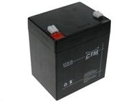 CTM 12V 5Ah olověný akumulátor F1