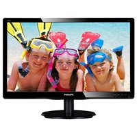 "Philips MT LED 19,5"" 200V4LAB/00 - 1600x900, 5ms, 10M:1, 250cd/m, D-Sub, DVI, repro"