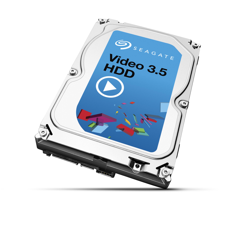 Seagate Video 3.5 HDD, 4TB, SATAIII, 64MB cache, 5.900RPM