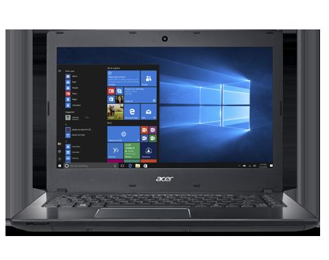 """Acer TravelMate P249-M-31EM 36Z3 i3-6100U/4GB+N/256GB SSD SATA+N/A/DVDRW/HD Graphics/14"""" HD matný/W7PRO+W10PRO//Black"""
