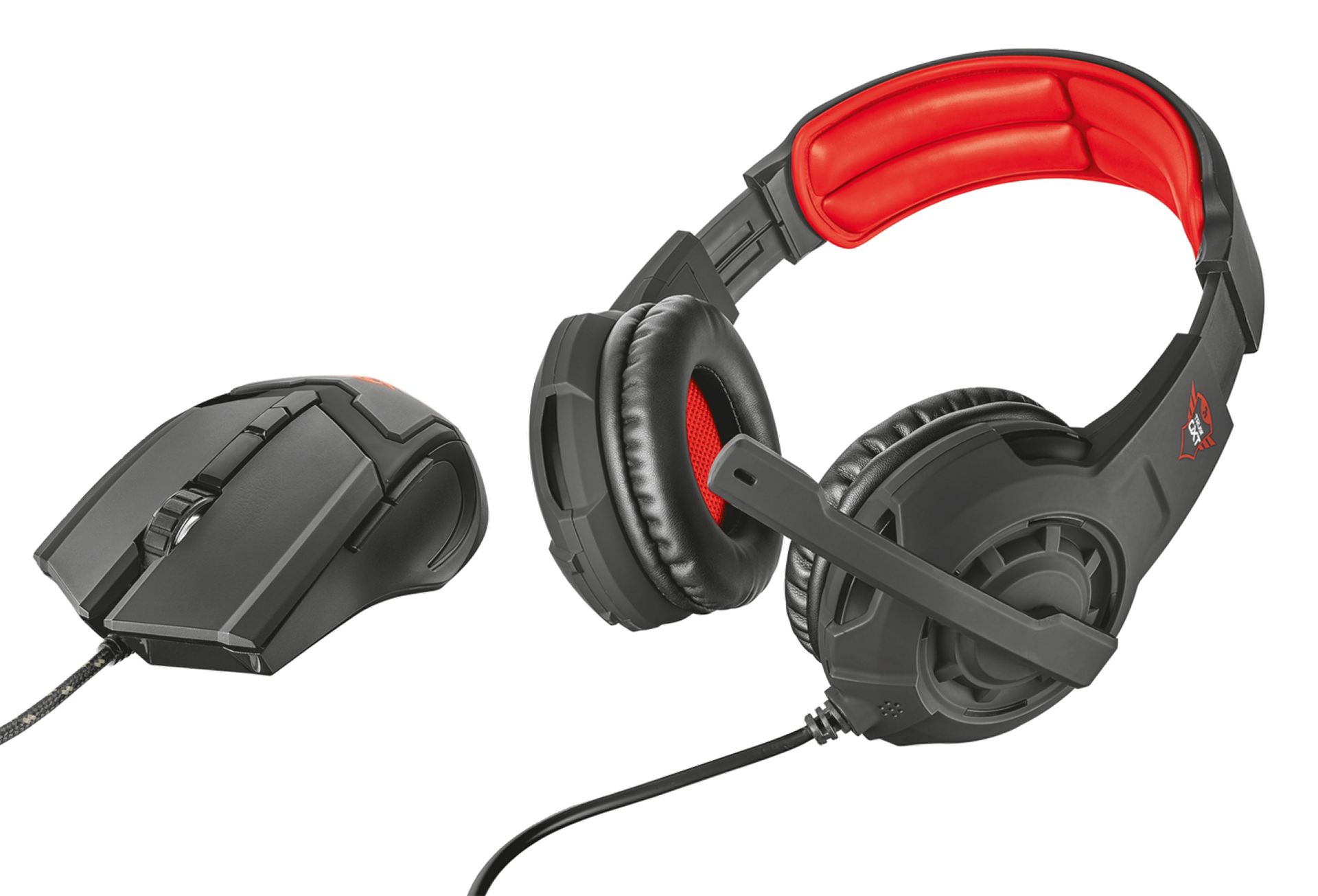 - Gaming headset & mouse