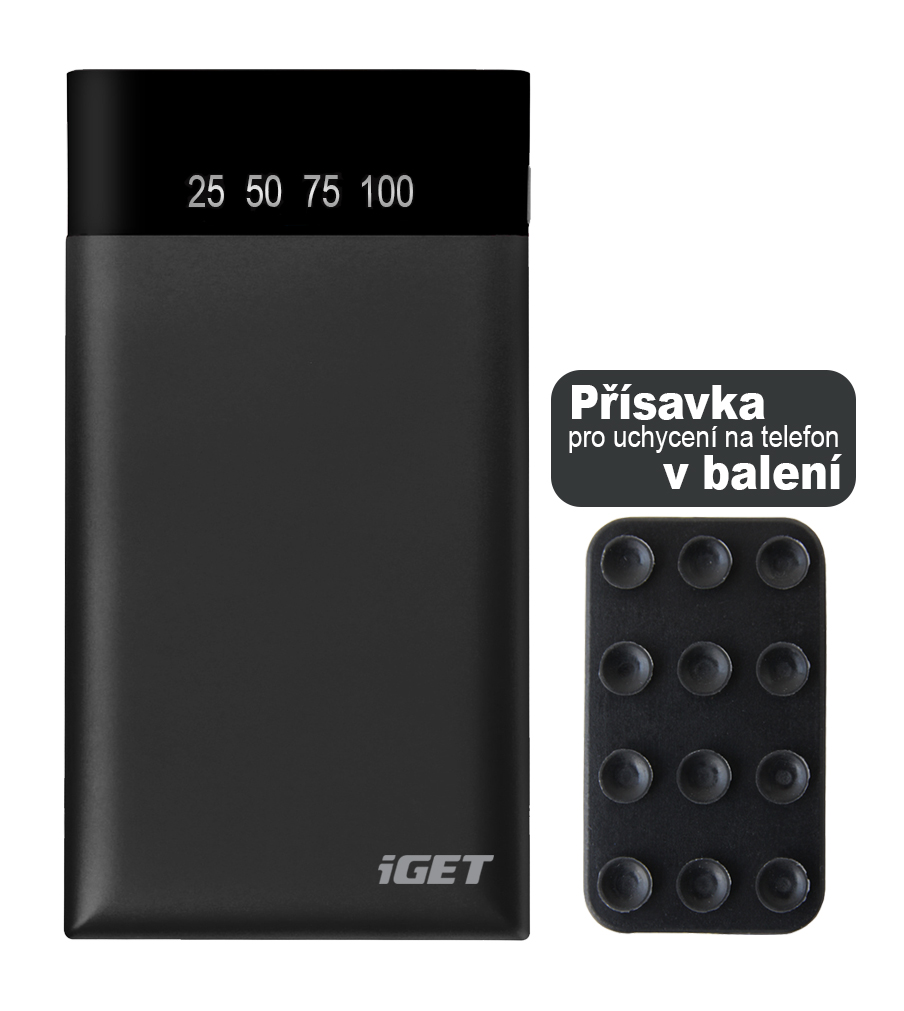 iGET POWER B-5000 (5 000mAh) Li-Pol powerbank