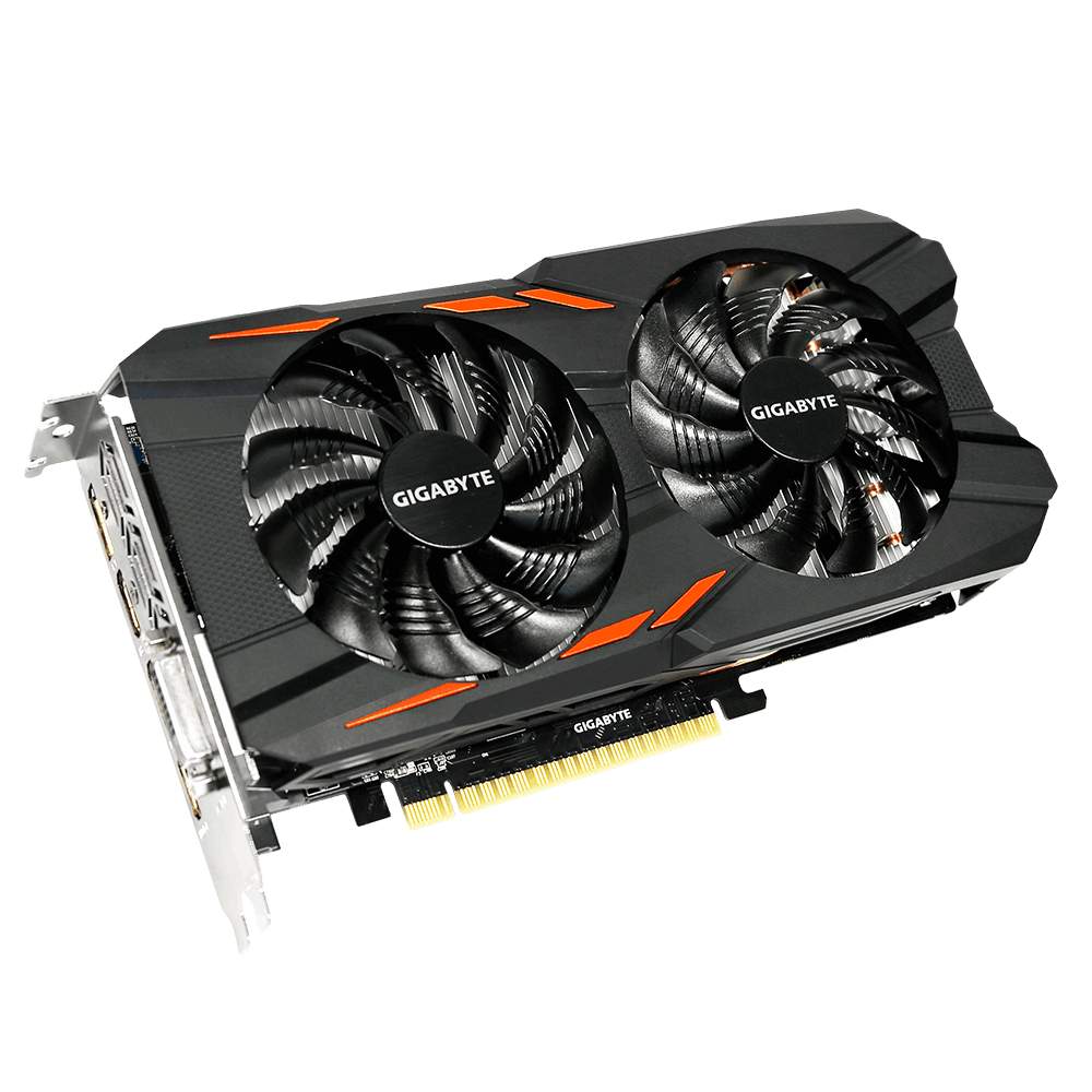 GIGABYTE GTX 1050 Windforce OC 2GB