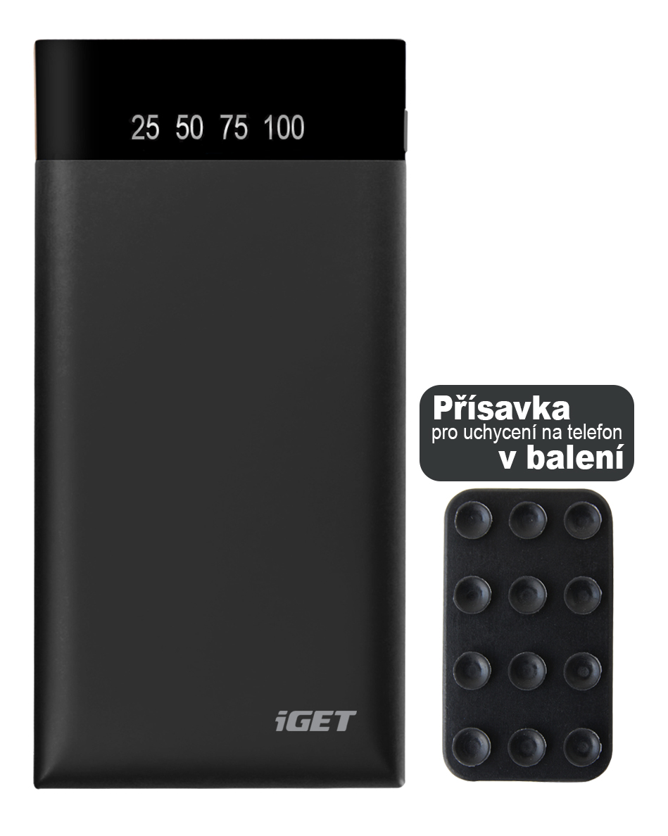 iGET POWER B-15000 (15 000mAh) Li-Pol powerbank